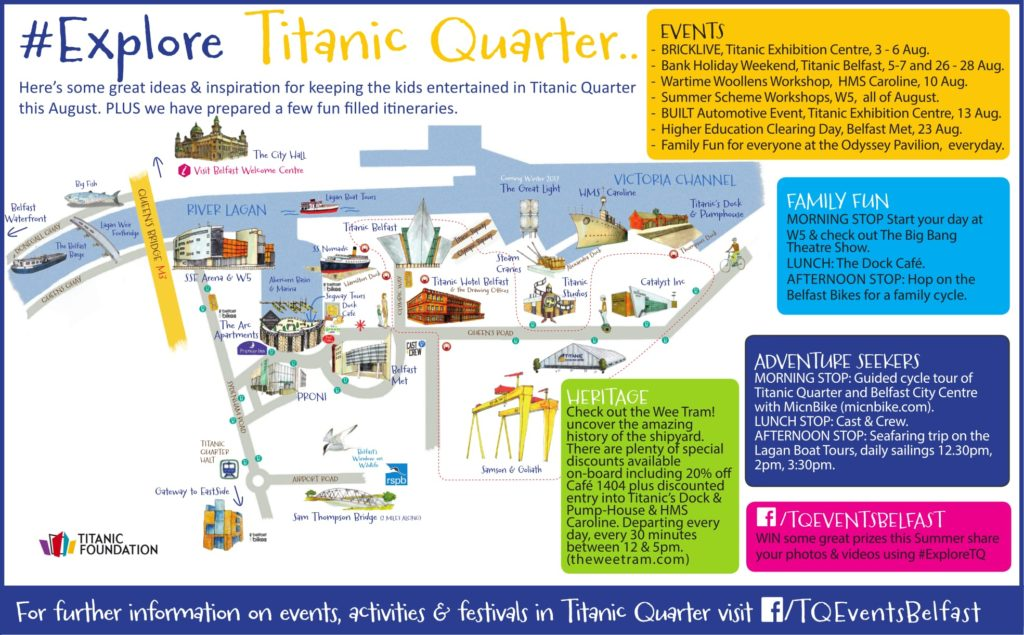144e5a4e5 Explore Titanic Quarter in style on The Wee Tram! Rest yer wee legs and  uncover the amazing history of the shipyard. PLUS this summer there are  plenty of ...